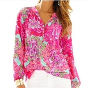EUC Lilly Pulitzer Elsa Top, Small, in Worth It